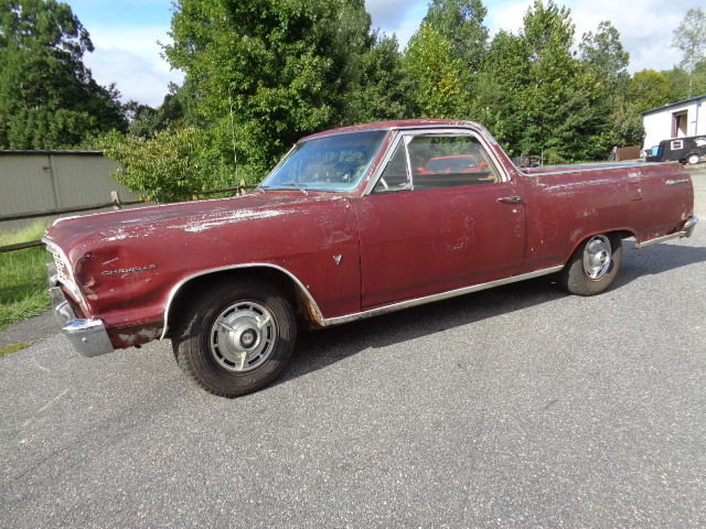 manual trans 1964 Chevrolet El Camino project