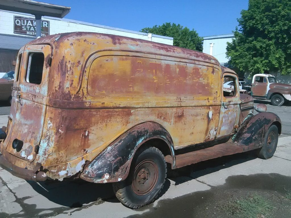 missing engine 1937 Dodge Pickups project