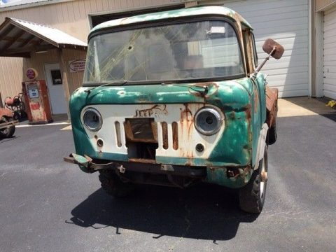 missing parts 1959 Jeep Pickup project for sale