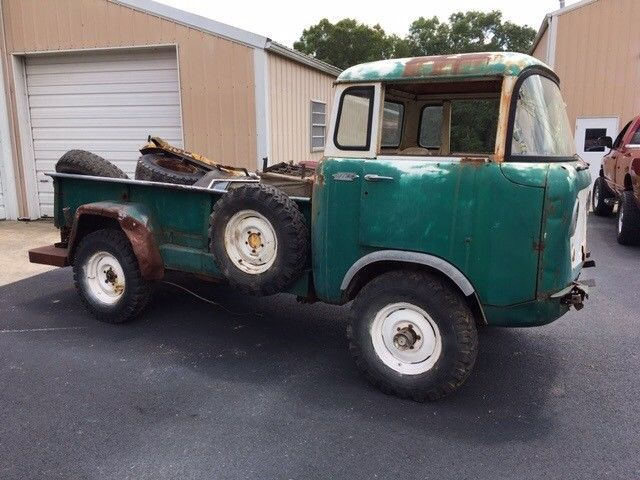 missing parts 1959 Jeep Pickup project