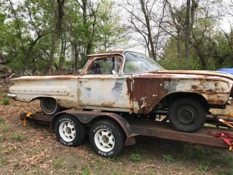 needs total resto 1960 Chevrolet El Camino project for sale