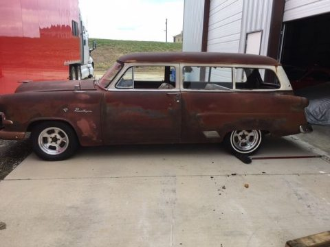 nice patina 1953 Ford Ranch Wagon project for sale