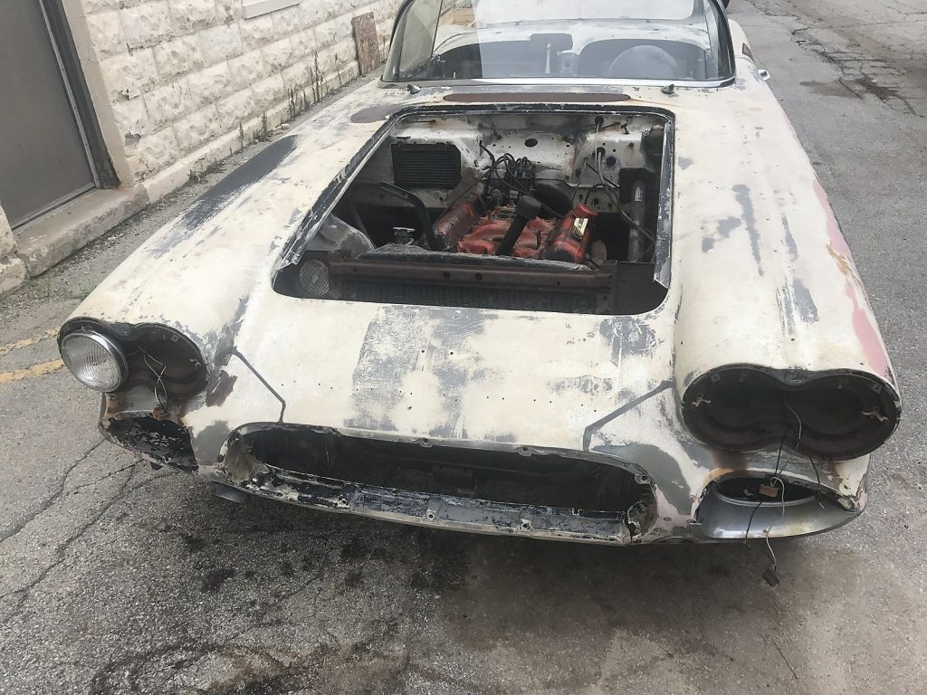 pretty solid 1962 Chevrolet Corvette Convertible project