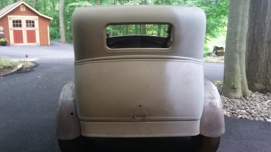 rust free 1931 Ford Model A project