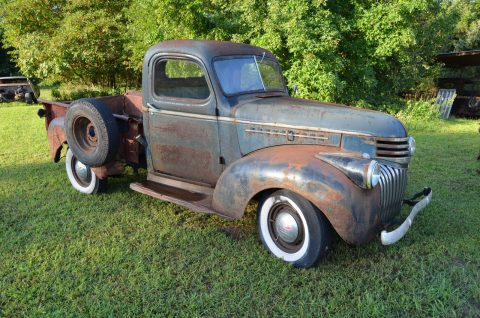solid 1946 Chevrolet C/K Pickup 1500 project for sale