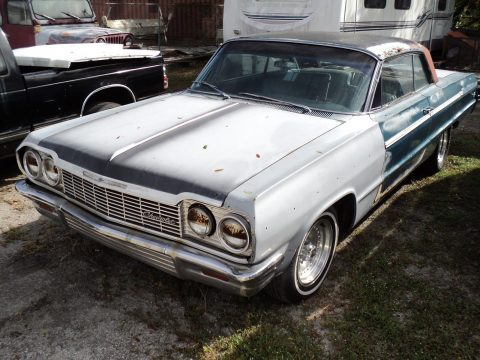 solid 1964 Chevrolet Impala Super Sport Project for sale