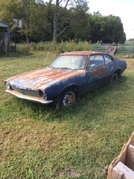 solid frame 1970 Ford maverick project for sale