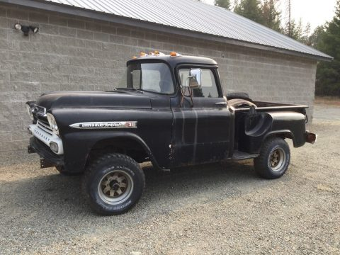 vintage 1959 Chevrolet Pickup project for sale