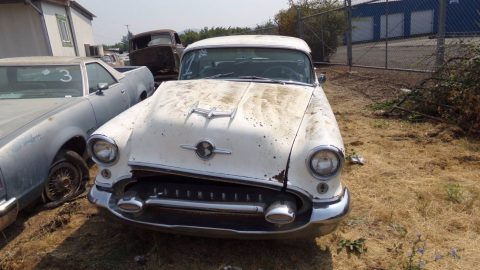 complete 1955 Oldsmobile Ninety Eight project for sale