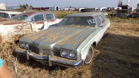 complete 1973 Pontiac Catalina Grand Safari project for sale