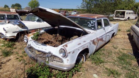 does not run 1956 DeSoto Firedome project for sale