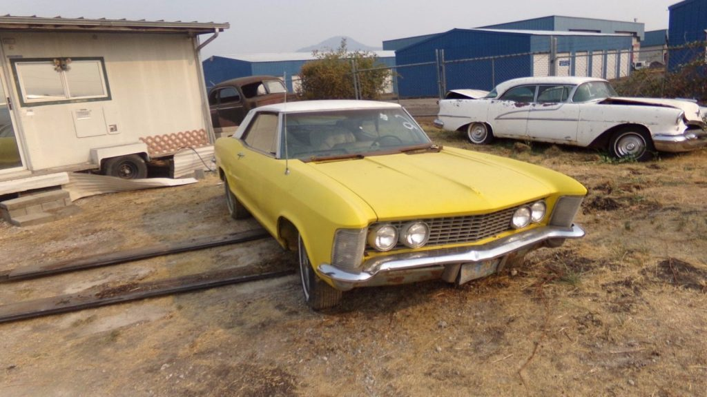 first year 1963 Buick Riviera project