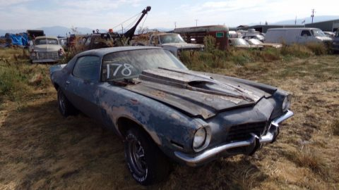 four speed 1970 Chevrolet Camaro project for sale