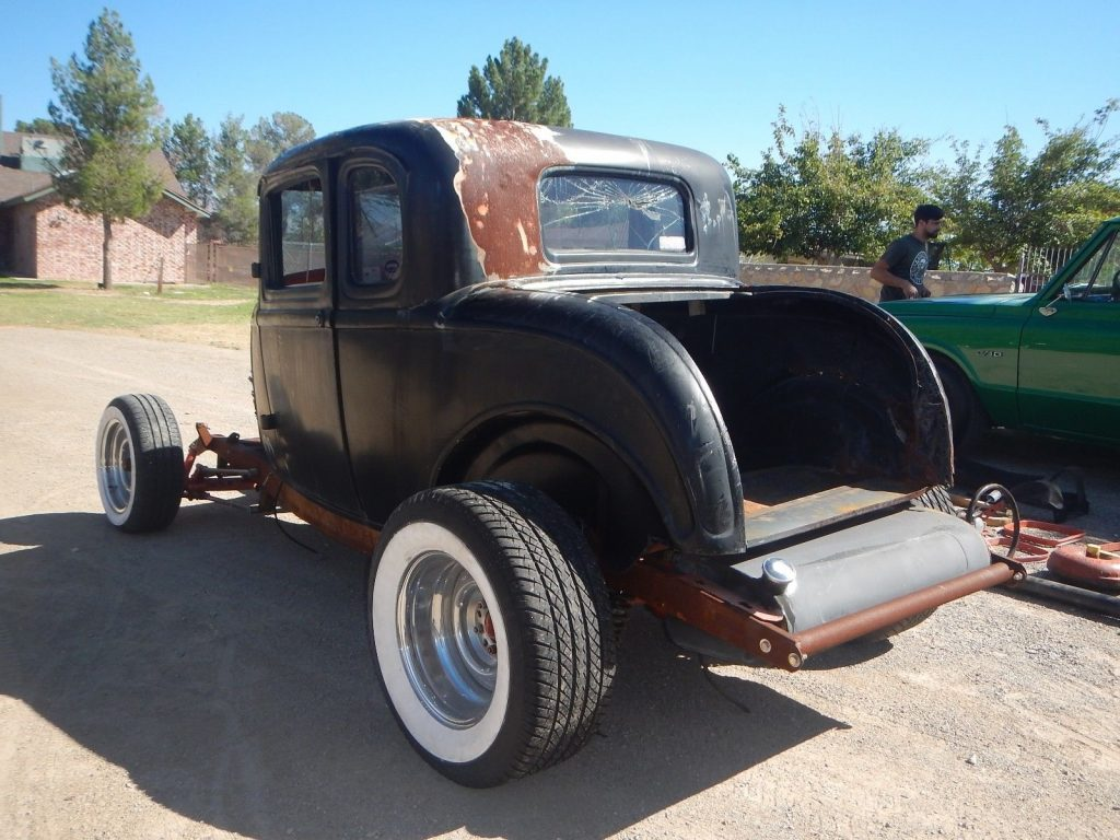 Hot rod 1932 ford 5 window coupe project for sale for 1932 ford 3 window coupe steel body