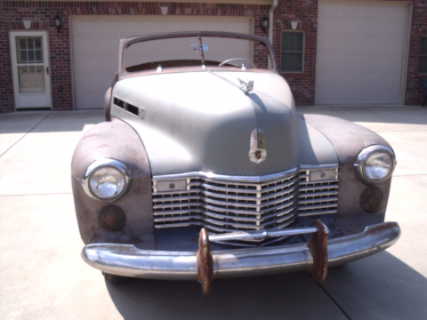 lots of parts 1941 Cadillac Series 62 Deluxe project for sale