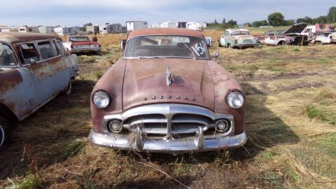 maybe not original seats 1951 Packard Touring Sedan 400 Patrician project for sale