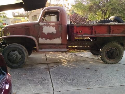 military truck 1942 Chevrolet G506 project for sale