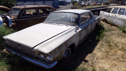 original survivor 1963 Chrysler Newport project for sale