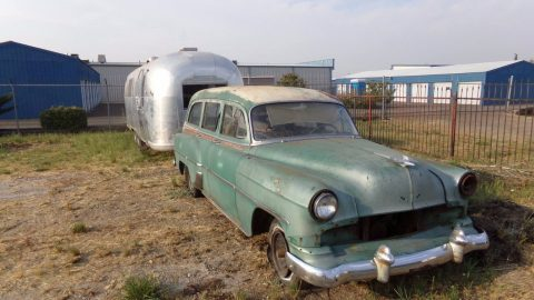 rare 1954 Chevrolet Bel Air/150/210 Deluxe Station Wagon project for sale