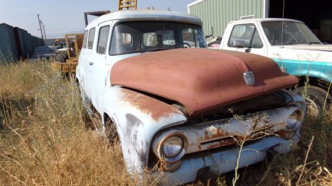 rare Factory Conversion 1956 Ford F 100 Panel project for sale