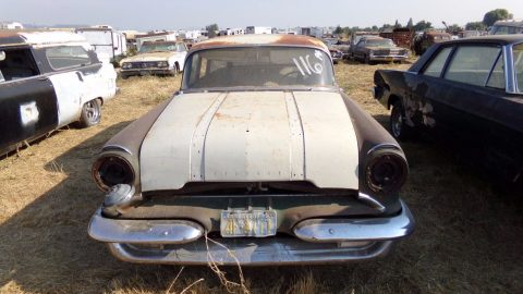 rare wagon 1955 Pontiac Chieftain project for sale