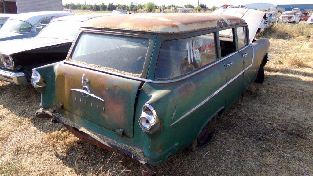 rare wagon 1955 Pontiac Chieftain project