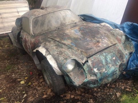 road racer 1957 Fiat Abarth Zagato project for sale