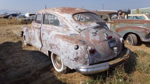 very solid 1947 Dodge 2 DOOR Coupe project for sale