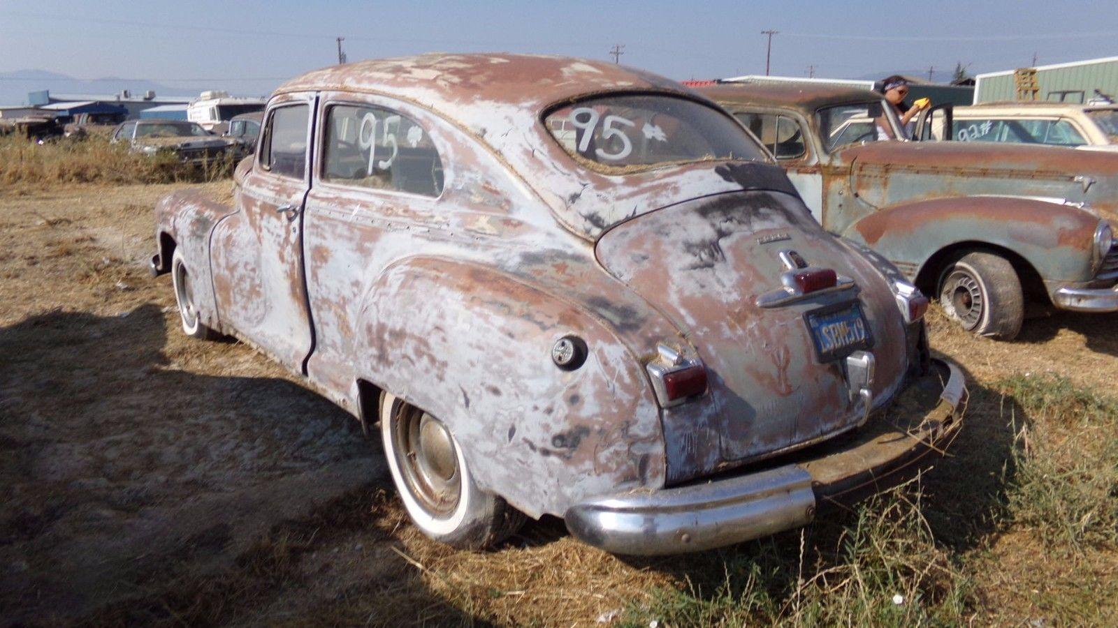 Very solid 1947 dodge 2 door coupe project for sale for 1947 dodge 2 door sedan
