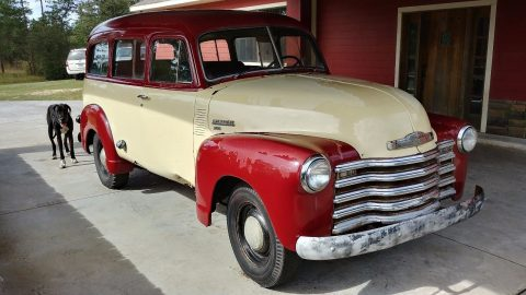 barn find 1950 Chevrolet Pickups Suburban 3100 project for sale