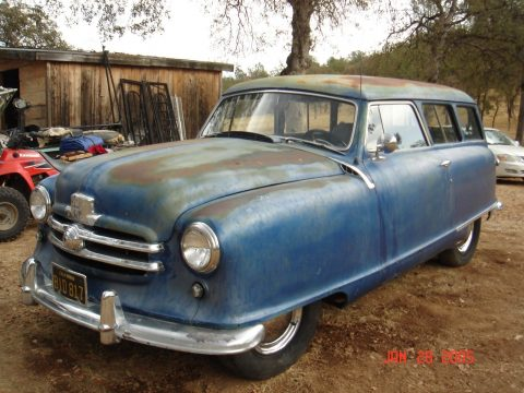 barn find 1951 Nash 400 Series 136 project for sale