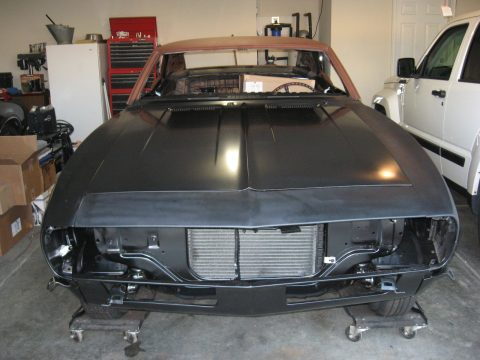 Camaro Clone 1968 Pontiac Firebird project for sale