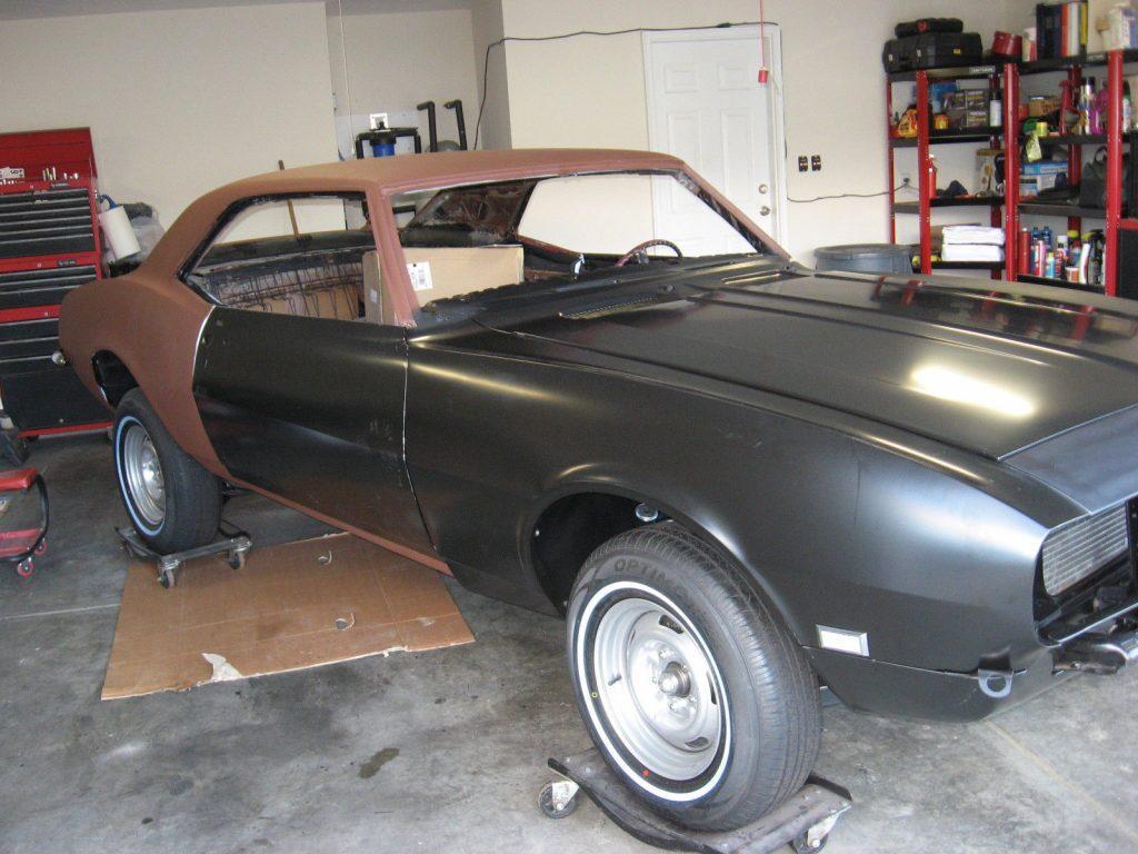 Camaro Clone 1968 Pontiac Firebird project