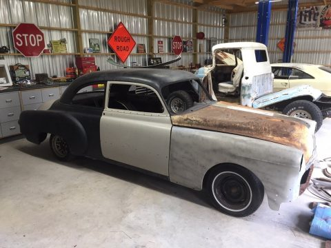 custom 1950 Pontiac Silver Streak project for sale
