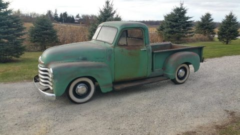 custom 1951 Chevrolet Pickups project for sale