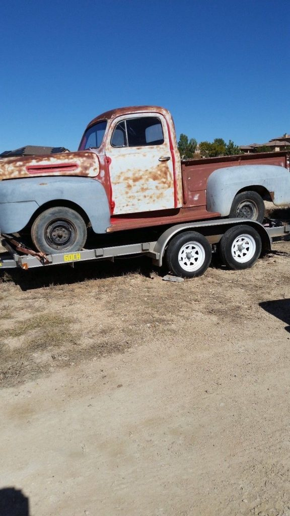 great shape 1950 Ford Pickups project