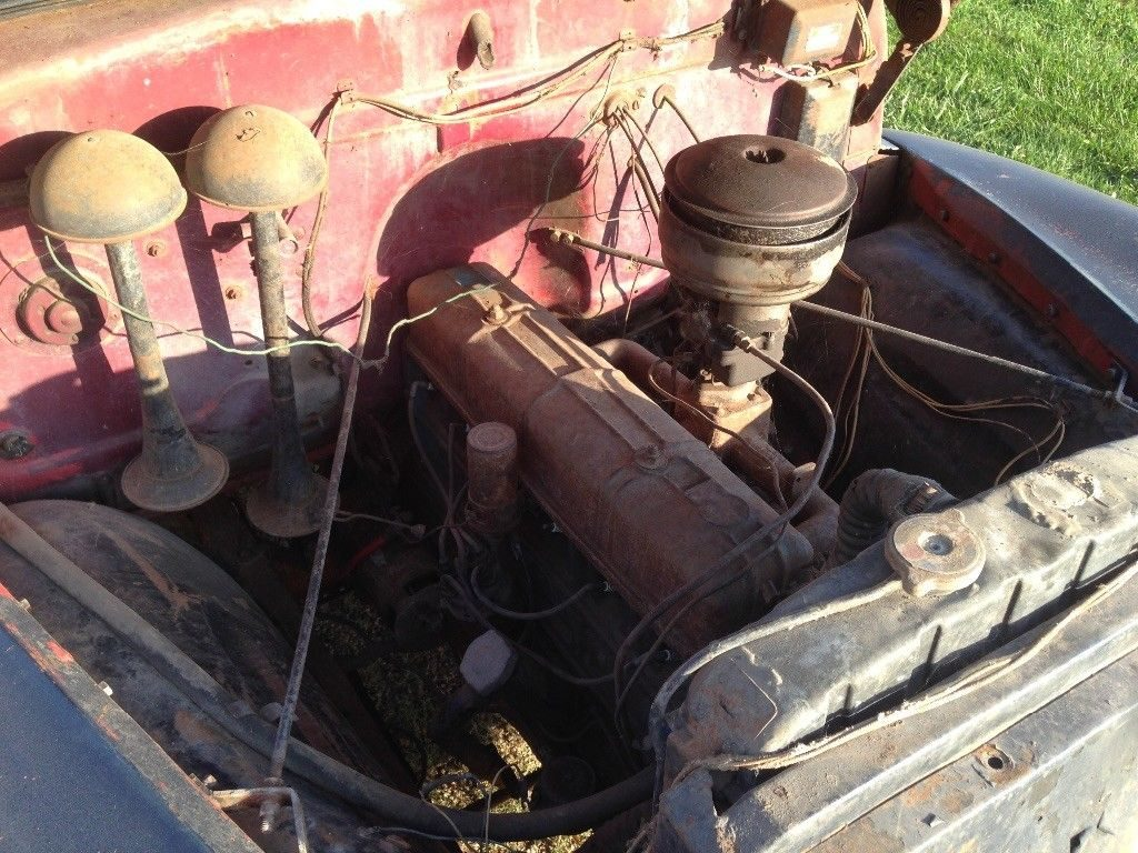 locked engine 1949 Chevrolet Pickups project