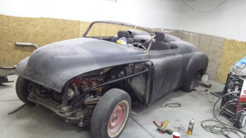 modified 1950 Chevrolet rat rod project for sale