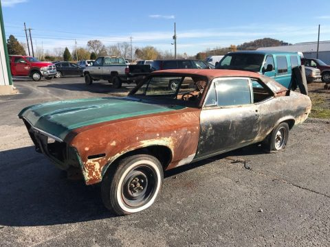 needs lots of works 1972 Chevrolet Nova project for sale