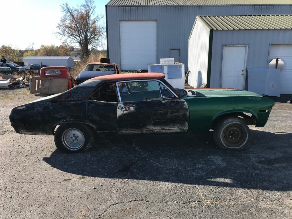 needs lots of works 1972 Chevrolet Nova project