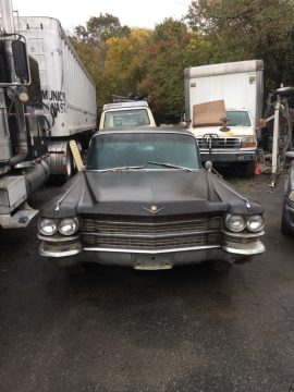 needs restoration 1963 Cadillac Series 75 Fleetwood limousine project for sale