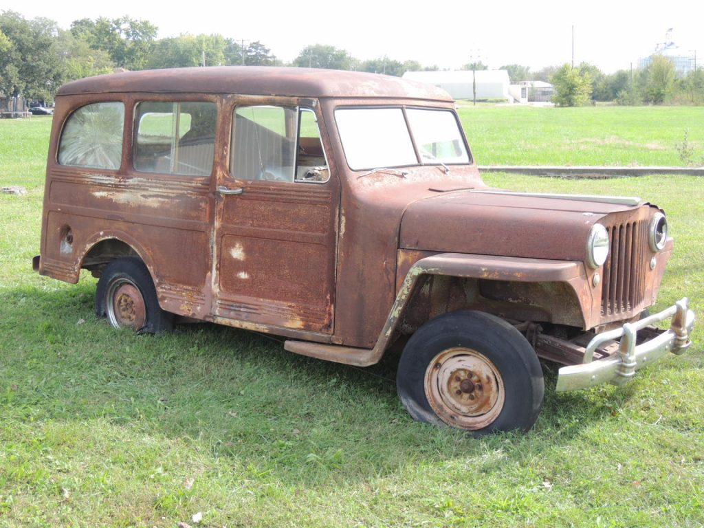no engine 1946 Willys 439 Jeep Station wagon project