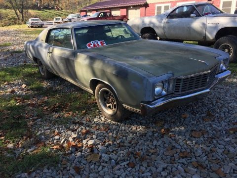 original 1972 Chevrolet Monte Carlo project for sale