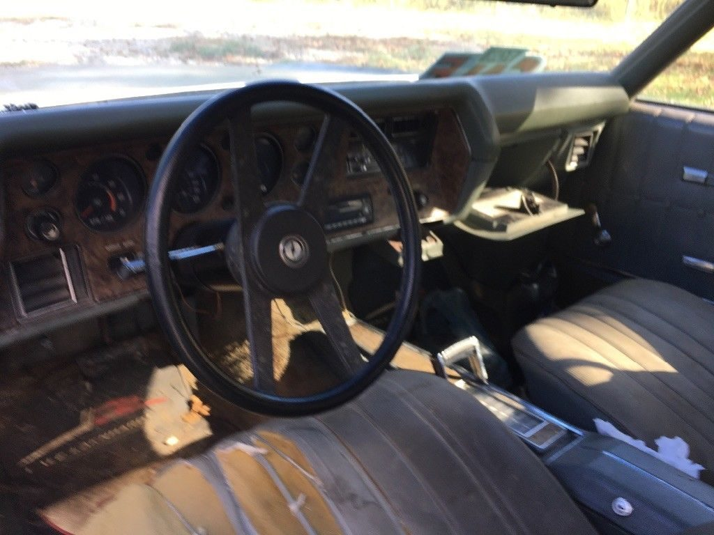 original 1972 Chevrolet Monte Carlo project