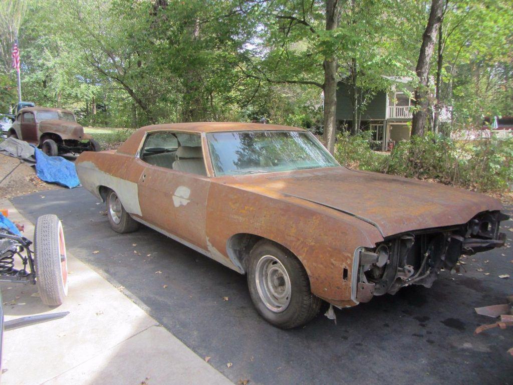 rebuilt engine 1969 Chevrolet Impala project