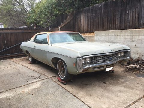 solid 1969 Chevrolet Impala project for sale