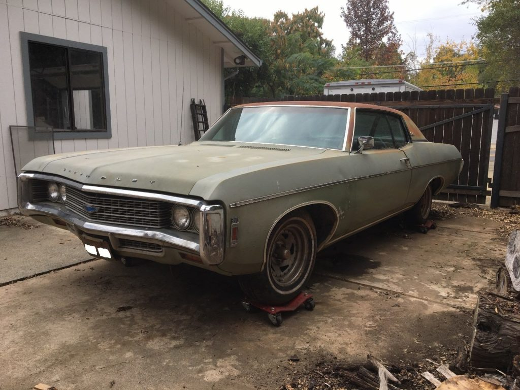 solid 1969 Chevrolet Impala project