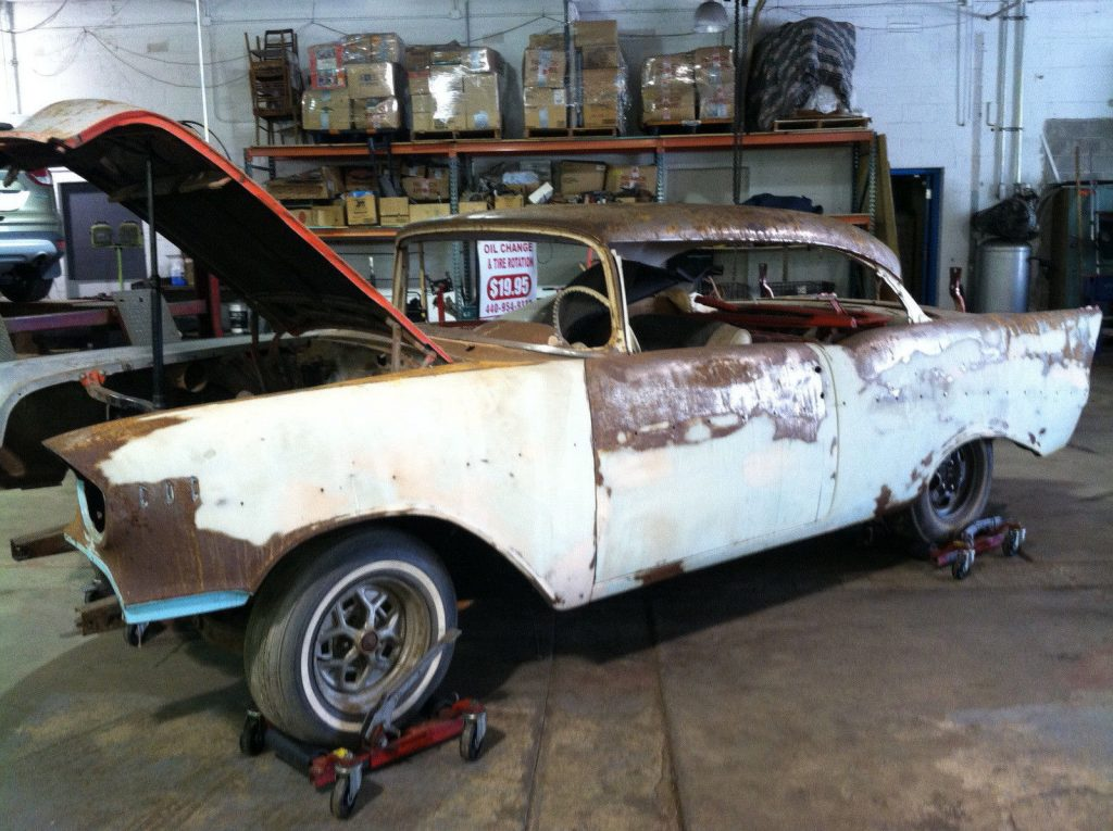 classic 1957 Chevrolet Bel Air/150/210 project