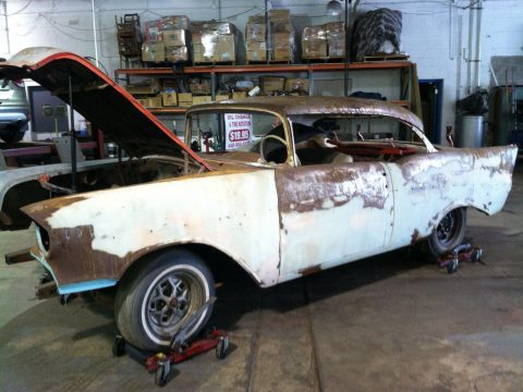 classic 1957 Chevrolet Bel Air/150/210 project for sale