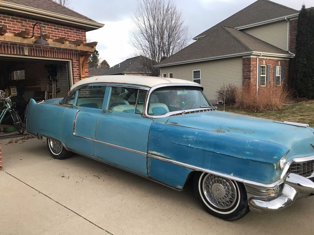 mostly original 1955 Cadillac Deville project